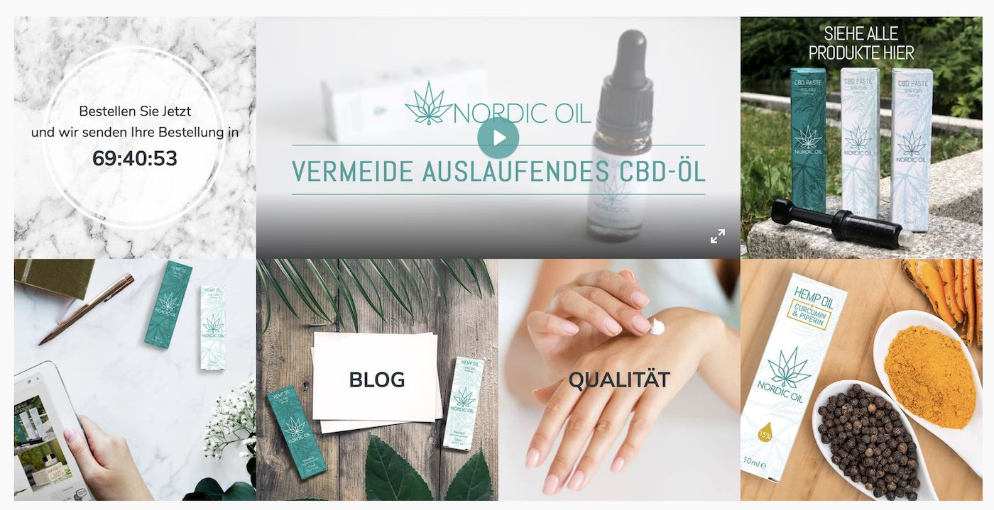 Unsere Nordic Oil Bewertung